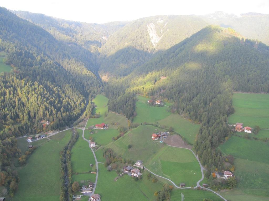 Der Landeplatz in Lüsen 1
